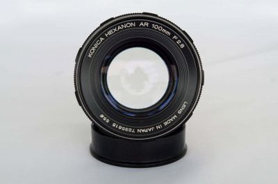 Konica-100mm-lens-through